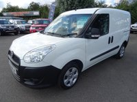 USED 2015 64 FIAT DOBLO 1.2 Cargo 16v Multijet great value for money and very economical