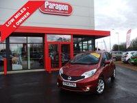 2014 NISSAN NOTE 1.2 TEKNA DIG-S 5d AUTO 98 BHP £8795.00