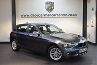 USED 2015 64 BMW 1 SERIES 2.0 118D SE 5DR AUTO 141 BHP + FULL BMW SERVICE HISTORY + 1 OWNER FROM NEW + BLUETOOTH + DAB RADIO + CRUISE CONTROL + RAIN SENSORS + PARKING SENSORS + 17 INCH ALLOY WHEELS +