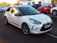 USED 2014 64 CITROEN DS3 1.6 DSTYLE TECHNO 3d 156 BHP One Owner Full Service History