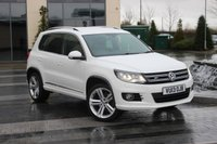 2013 VOLKSWAGEN TIGUAN 2.0 TDI R LINE BLUEMOTION TECHNOLOGY 4MOTION 5d  £13989.00