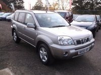 USED 2005 55 NISSAN X-TRAIL 2.2 SVE DCI 5d 135 BHP AFFORDABLE FAMILY 4X4 IN EXCELLENT CONDITION, DRIVES SUPERBLY WITH EXCELLENT SERVICE HISTORY , GREAT SPEC !!!!