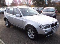 USED 2007 57 BMW X3 2.0 D SE 5d 148 BHP AFFORDABLE FAMILY 4X4 IN EXCELLENT CONDITION, DRIVES SUPERBLY WITH EXCELLENT SERVICE HISTORY , GREAT SPEC !!!!