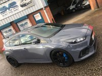2016 FORD FOCUS 2.3 ECOBOOST RS 350BHP WITH EVERY EXTRA SHELL SEATS, SUN ROOF, SYNC 3 PLUS MORE £31500.00