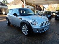 2007 MINI HATCH ONE 1.4 ONE 3d 94 BHP £1500.00