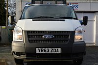 USED 2013 63 FORD TRANSIT 2.2 350 DRW 1d 124 BHP **ONE FORMER KEEPER**
