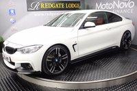 2015 BMW 4 SERIES 435D XDRIVE M SPORT 2d AUTO 309 BHP £27494.00