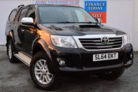 USED 2014 64 TOYOTA HI-LUX 3.0 INVINCIBLE 4X4 D-4D DCB 1d AUTO 169 BHP **ONE FORMER KEEPER**