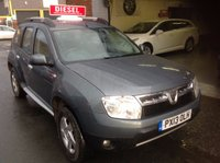 USED 2013 13 DACIA DUSTER 1.5 LAUREATE DCI 4WD FSH......Parking Sensors....Bluetooth