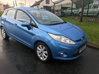 USED 2008 58 FORD FIESTA 1.2 ZETEC 5d 43000 miles kingfisher blue very clean well looked after car