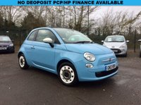 USED 2013 13 FIAT 500C  0.9  COLOUR THERAPY CONVERTIBLE 3d  NO DEPOSIT  PCP/HP FINANCE ARRANGED, APPLY HERE NOW