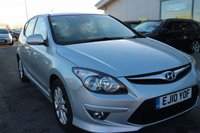 USED 2010 10 HYUNDAI I30 1.4 COMFORT 5d 108 BHP LOW DEPOSIT OR NO DEPOSIT FINANCE AVAILABLE.