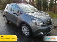 USED 2015 15 VAUXHALL MOKKA 1.6 SE S/S 5d 114 BHP Fantastic Low Mileage Petrol Mokka SE with Full Grey Leather, Climate Control, Cruise Control and Alloy Wheels.