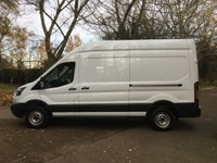 2015 FORD TRANSIT 2.2 350 H/R P/V 1d 124 BHP GENUINE LOW MILES, FORD WARRANTY UNTIL DEC 2018  £SOLD