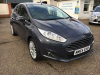 USED 2015 64 FORD FIESTA 1.6 TITANIUM 3d AUTO 104 BHP ** NOW SOLD ** NOW SOLD **.