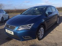 USED 2013 13 SEAT LEON 1.6 TDI SE TECHNOLOGY 5d 105 BHP