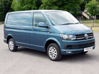 USED 2017 17 VOLKSWAGEN TRANSPORTER T6 T30 2.0TDI 150PS SWB DSG HIGHLINE