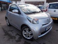 2011 TOYOTA IQ 1.3 VVT-I IQ3 3d 97 BHP £5295.00