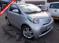 USED 2011 61 TOYOTA IQ 1.3 VVT-I IQ3 3d 97 BHP ONLY £30 PER YEAR ROAD TAX. LOW INSURANCE GROUP. NEW MOT. WARRANTED.