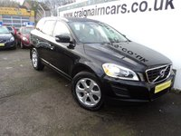 USED 2012 12 VOLVO XC60 2.4 D3 SE LUX AWD 5d AUTO 161 BHP Two Owners 37000 Miles Full Volvo History