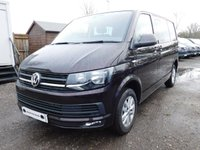 USED 2017 17 VOLKSWAGEN TRANSPORTER T6 T30 2.0TDI 150 PS SWB DSG HIGHLINE KOMBI