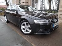 USED 2014 64 AUDI A4 2.0 TDI ULTRA SE TECHNIK 5d 161 BHP *** FINANCE & PART EXCHANGE WELCOME *** 1 OWNER £ 30 TAX  STOP/START SAT/NAV FULL BLACK LEATHER AIR/CON CRUISE CONTROL