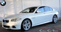USED 2012 62 BMW 5 SERIES 520d M-SPORT SALOON AUTO 181 BHP Finance? No deposit required and decision in minutes.