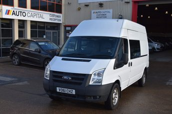 2011 FORD TRANSIT 2.4 350 H/R 5d 115 BHP LWB RWD 9 SEATER COMBI DIESEL MANUAL VAN £5250.00