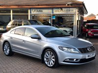 USED 2013 13 VOLKSWAGEN CC 2.0TDI GT BLUEMOTION TECH 138 BHP Free MOT for Life