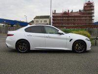 USED 2017 67 ALFA ROMEO GIULIA 2.9 V6 BITURBO QUADRIFOGLIO 4d AUTO 503 BHP