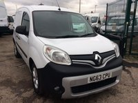 USED 2014 63 RENAULT KANGOO 1.5 ML19 SPORT DCI 90 BHP 1 OWNER FSH NEW MOT AIR CON FREE AA WARRANTY, RECOVERY AND ASSIST AIR CONDITIONING BLUETOOTH ELECTRIC WINDOWS AND MIRRORS TWIN SIDE LOADING DOORS NEW MOT SPARE KEY