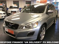 USED 2010 10 VOLVO XC60  2.4 D5 AWD AUTOMATIC R-DESIGN PREMIUM NAV FINANCE PACKAGES - PART EXCHANGE - NATIONWIDE DELIVERY