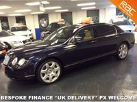 "USED 2006 56 BENTLEY CONTINENTAL FLYING SPUR  6.0 W12 TWIN TURBO 552 BHP SOFT CLOSE DOORS - 20"" ALLOYS - PRIVACY - DOUBLE GLAZED"