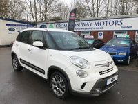 USED 2014 14 FIAT 500L 1.6 MULTIJET TREKKING 5d 105 BHP 0% FINANCE AVAILABLE ON THIS CAR PLEASE CALL 01204 317705