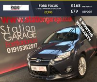 USED 2012 12 FORD FOCUS 1.6 ZETEC S POWERSHIFT 5d AUTO 124 BHP ZETEC S BODYKIT AND DAB STUNNING CAR