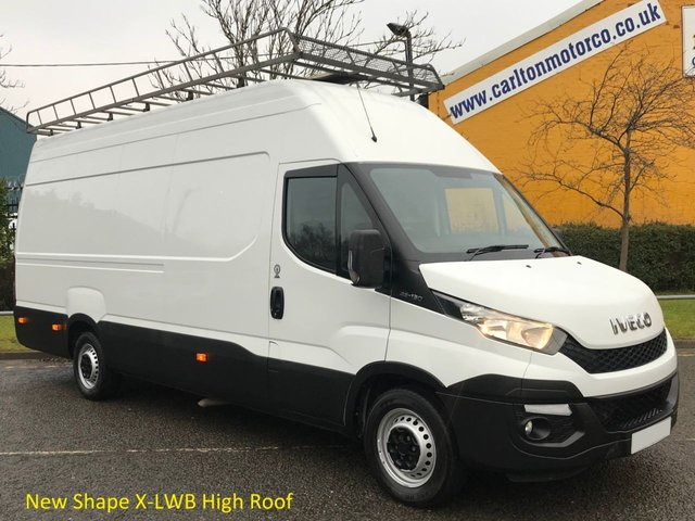 2015 15 IVECO-FORD DAILY 35s13 H3 4100mm Ex High Roof [ New Shape ] Jumbo Van 2.3TD RWD Free UK Delivery