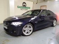 USED 2013 63 BMW 5 SERIES 3.0 530d M Sport Auto 4dr