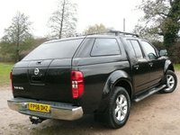 USED 2009 58 NISSAN NAVARA 2.5 AVENTURA DCI 4X4 D/C 4DR 170 BHP PICKUP REAR TOP BOX NO VAT