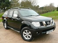 2009 NISSAN NAVARA 2.5 AVENTURA DCI 4X4 D/C 4DR 170 BHP PICKUP REAR TOP BOX NO VAT  £7970.00