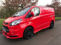 2014 FORD TRANSIT CUSTOM 2.2 330 LR 125 BHP RS STYLING PACK ONE OWNER  £12950.00