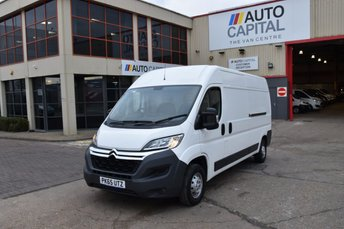 2015 CITROEN RELAY 2.2 35 L3H2 ENTERPRISE HDI 5d FWD 129 BHP AIR CON LWB H/ROOF DIESEL MANUAL VAN  £9950.00