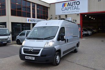 2012 CITROEN RELAY 2.2 35 L3H2 HDI 5d 129 BHP LWB H/ROOF FWD DIESEL PANEL MANUAL  VAN £6990.00