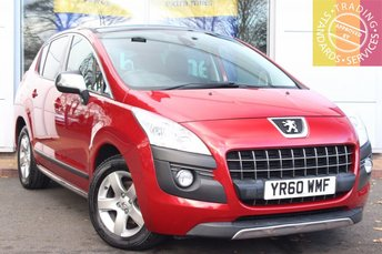 2010 PEUGEOT 3008 1.6 EXCLUSIVE HDI 5d 110 BHP £5289.00