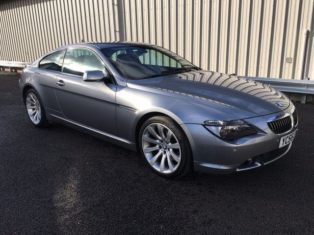 2006 56 BMW 6 SERIES 4.8 V8 650I SPORT COUPE AUTO 363 BHP