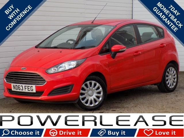 USED 2014 63 FORD FIESTA 1.2 STYLE 5d 81 BHP £30 TAX MEDIA FULL FORD HISTORY