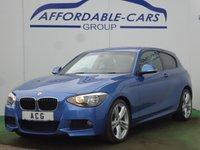 2012 BMW 1 SERIES 2.0 118D M SPORT 3d AUTO 141 BHP £10750.00