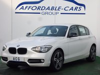 2014 BMW 1 SERIES 2.0 116D SPORT 5d 114 BHP £11450.00