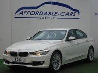 2013 BMW 3 SERIES 2.0 320D LUXURY 4d 184 BHP £11250.00