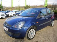 USED 2006 56 FORD FIESTA 1.4 STYLE CLIMATE 16V 5d 78 BHP HPI CLEAR, NEW MOT, PERFECT FIRST CAR, SERVICE HISTORY