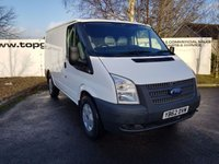 2013 FORD TRANSIT  280 2.2 100 BHP ECONETIC LR 6 SPEED CHOICE OF 70 VANS £6850.00